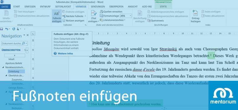Fußnoten in Word erstellen - Anleitung, Tipps, Tricks