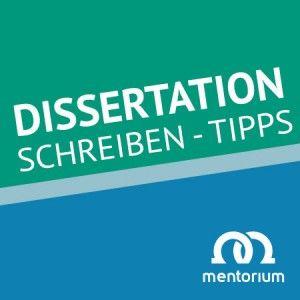 Wissenschaftliches Arbeiten - Dissertation schreiben