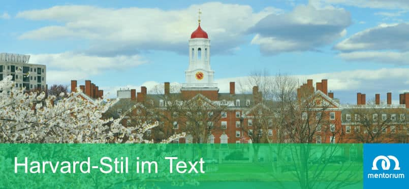 Harvard-Stil im Text