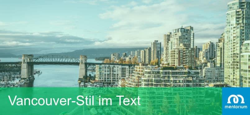 Vancouver-Stil im Text