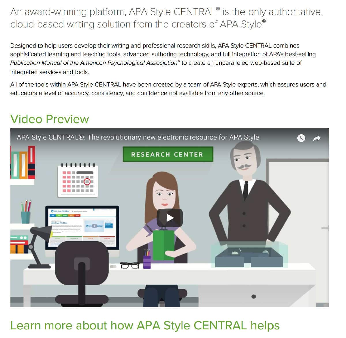 APA-Style Central