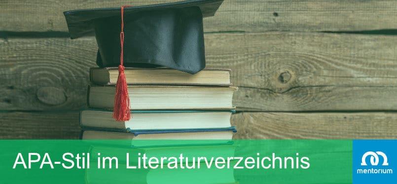 APA-Stil im Literaturverzeichnis