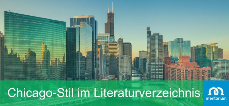 Chicago-Stil im Literaturverzeichnis