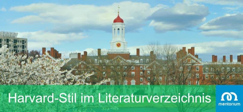 Harvard-Stil im Literaturverzeichnis