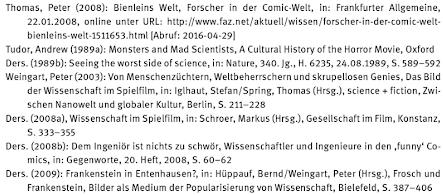 dissertation literaturverzeichnis internetquellen