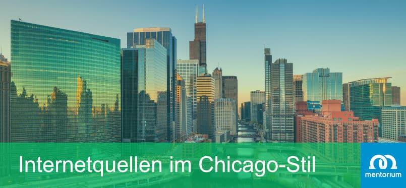 Internetquellen im Chicago-Stil