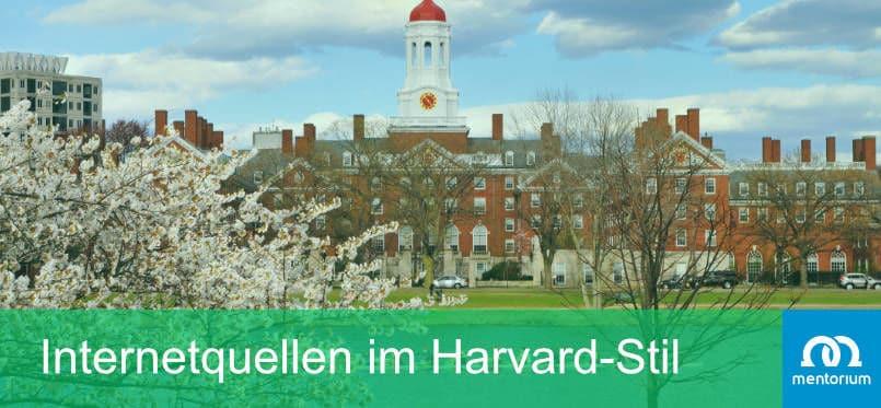 Internetquellen im Harvard-Stil
