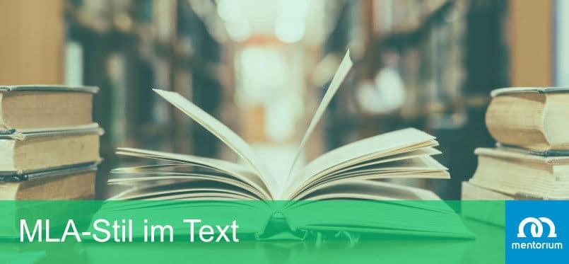 MLA-Stil im Text