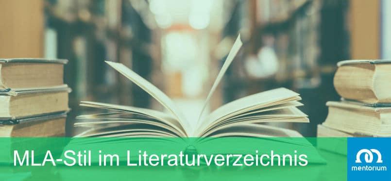 MLA-Stil im Literaturverzeichnis