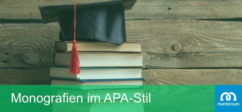 Monografien im APA-Stil
