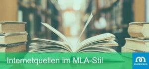 Internetquellen im MLA-Stil