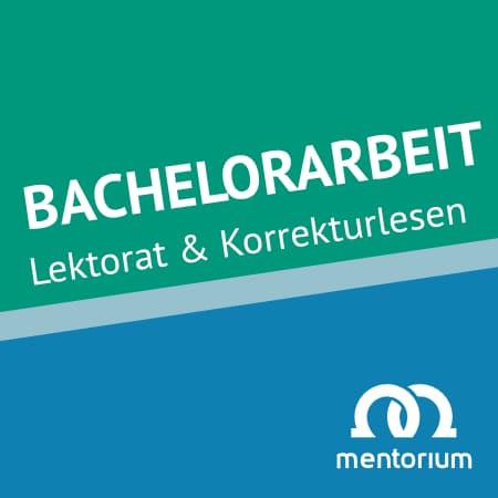 Tübingen Lektorat Korrekturlesen Bachelorarbeit