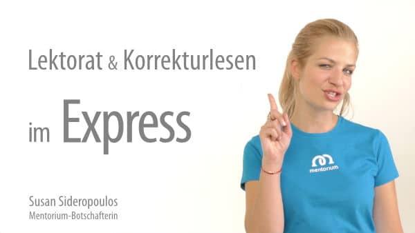 Express Lektorat und Korrekturlesen