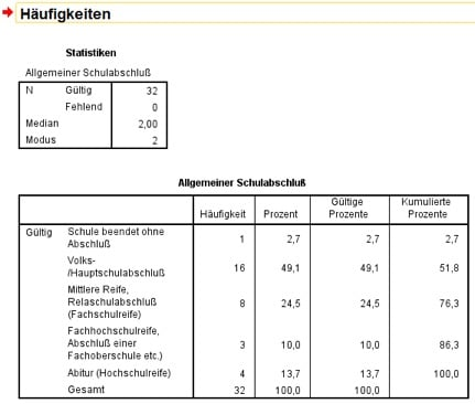 univariate statistik mit spss anleitung tipps. Black Bedroom Furniture Sets. Home Design Ideas