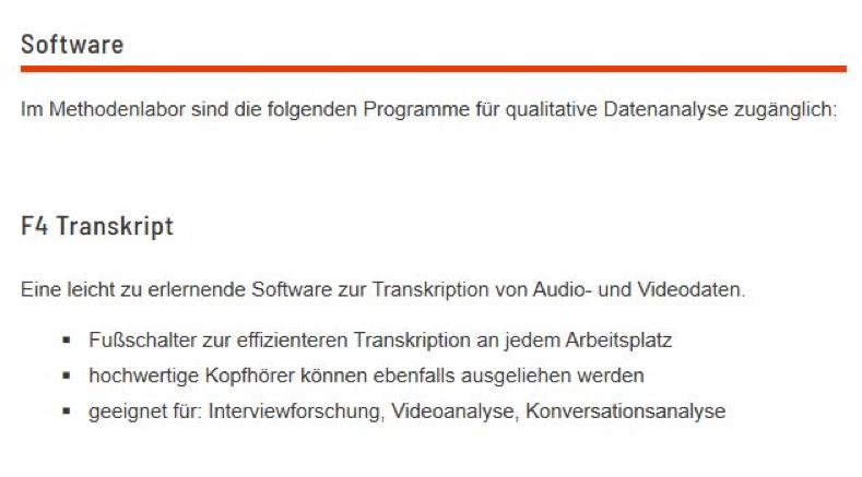 Diktiersoftware f4
