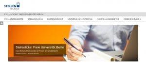 Bewerbung Praktikum: Stellenportal der FU Berlin