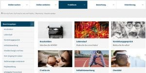 Karriere-Portal der Uni Potsdam