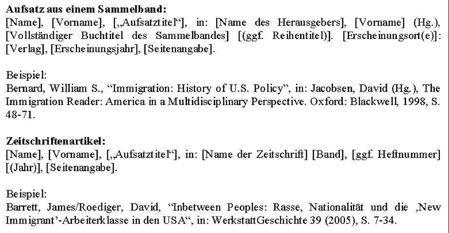 Literaturverzeichnis Hausarbeit Uberblick 13