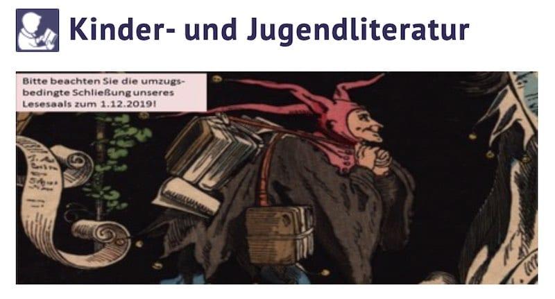 Recherche zum Kinderbuch schreiben, z.B. in der Kinder- und Jugendliteratur-Abteilung der Staatsbiblithek Berlin