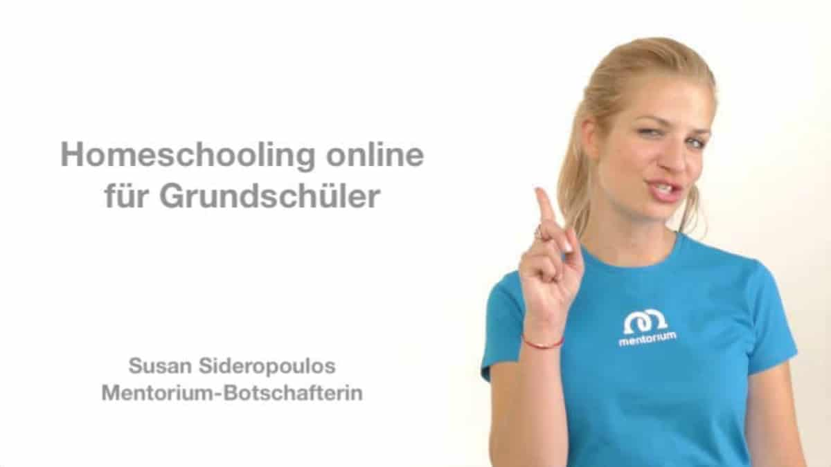 Homeschooling online – Susan ist unsere Botschafterin