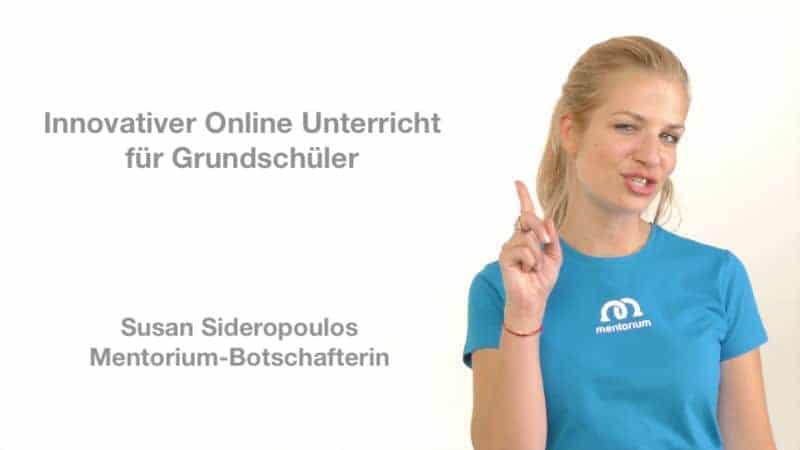 Online Unterricht Susan – Unsere Botschafterin